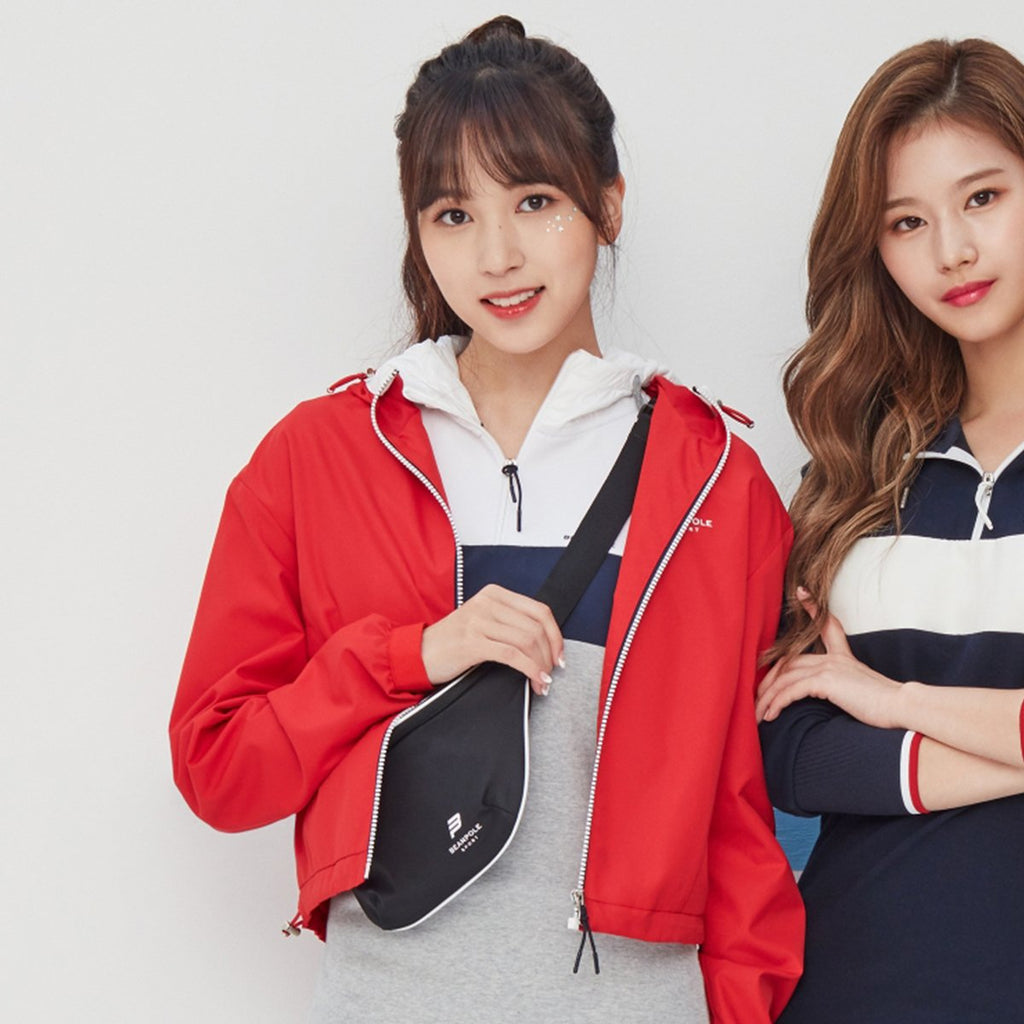 TWICE Beanpole Sport 18FW Light Gray Women Sporty Fudi Dress-KR-HALLYU MART