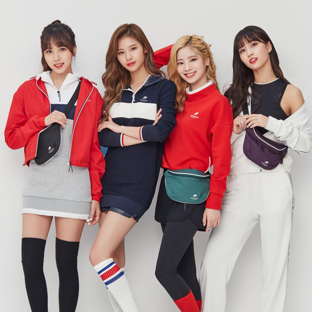 TWICE Beanpole Sport 18FW Navy Women's Sporty Fudi Dress-KR-HALLYU MART