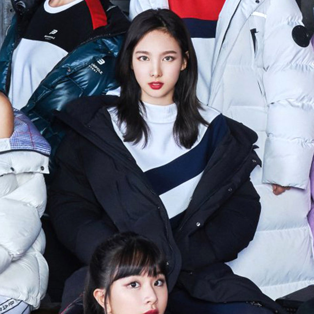 TWICE Beanpole Sport 18FW Unisex Black B.Bench Deck Down Bench Down Long Padding Jackets-KR-HALLYU MART
