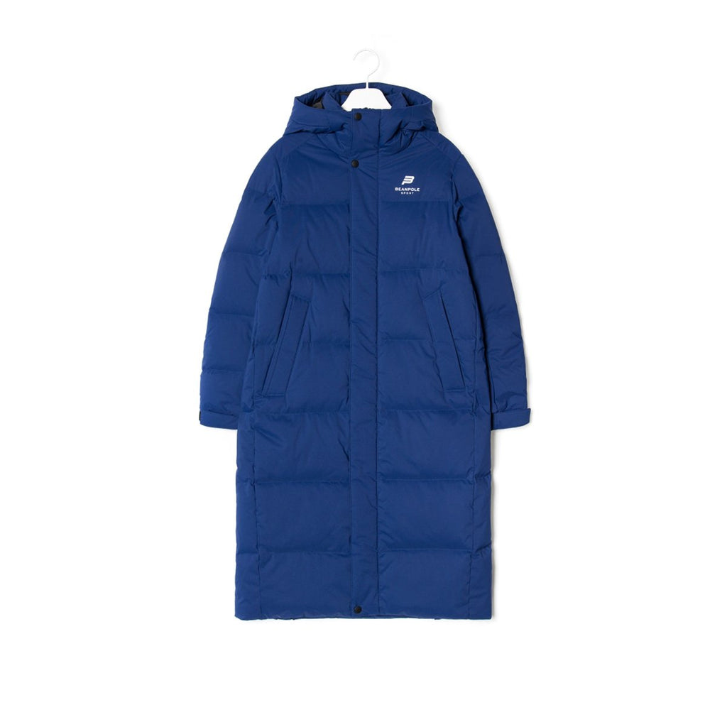 TWICE Beanpole Sport 18FW Unisex Blue B.Bench Deck Down Bench Down Long Padding Jackets-KR-HALLYU MART
