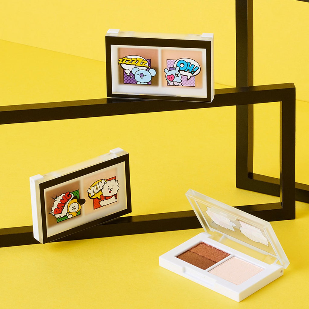 VT x BT21 VT Art In Multi Eye Shadow-VT Cosmetics-HALLYU MART