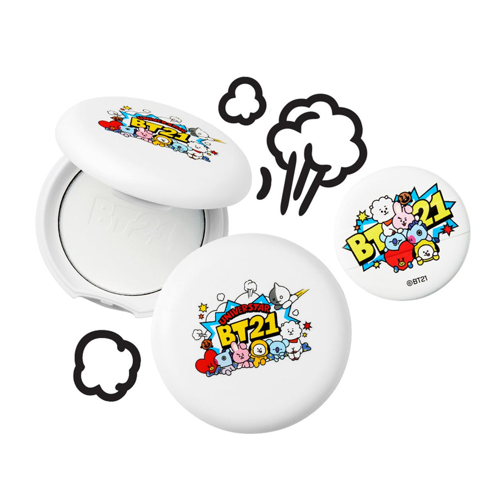 VT x BT21 VT Art In Pore Pact-VT Cosmetics-HALLYU MART