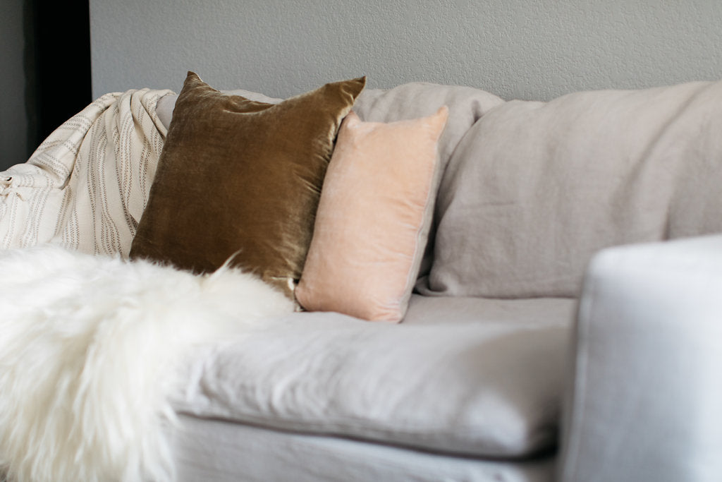 summer hygge pillows
