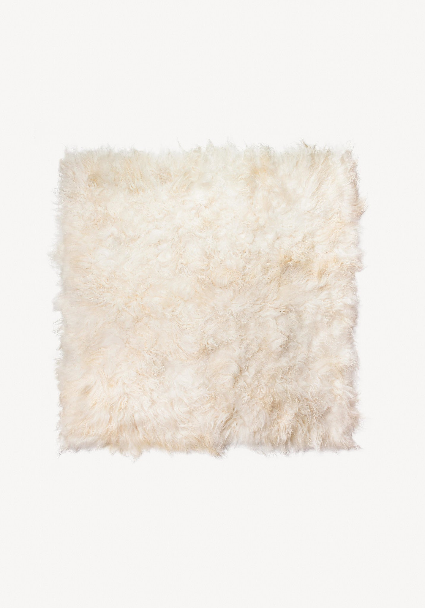 Round sheepskin Rug Multicolor Hygge Life