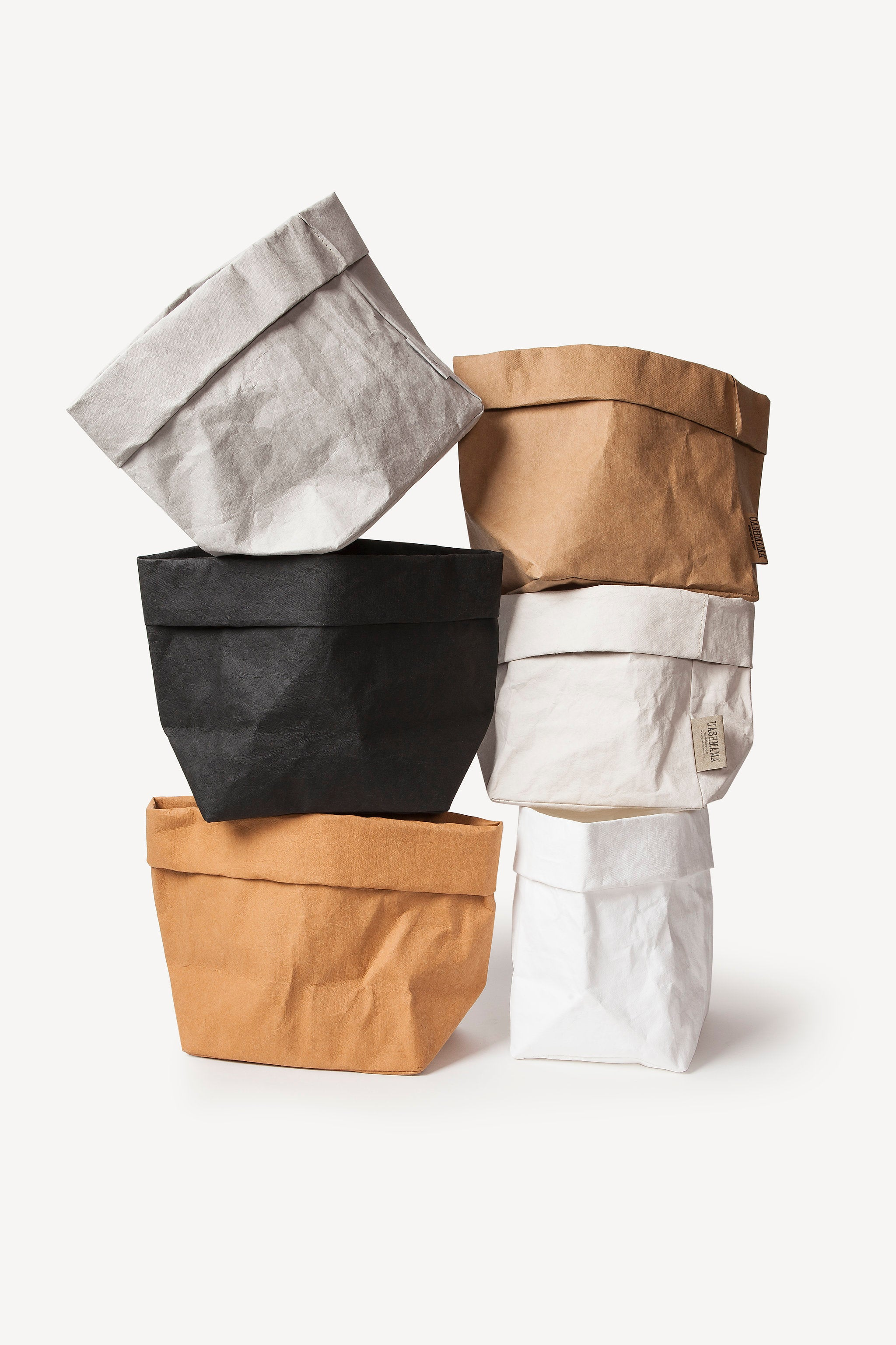 Bon Large Washable Paper Bag   All Colors
