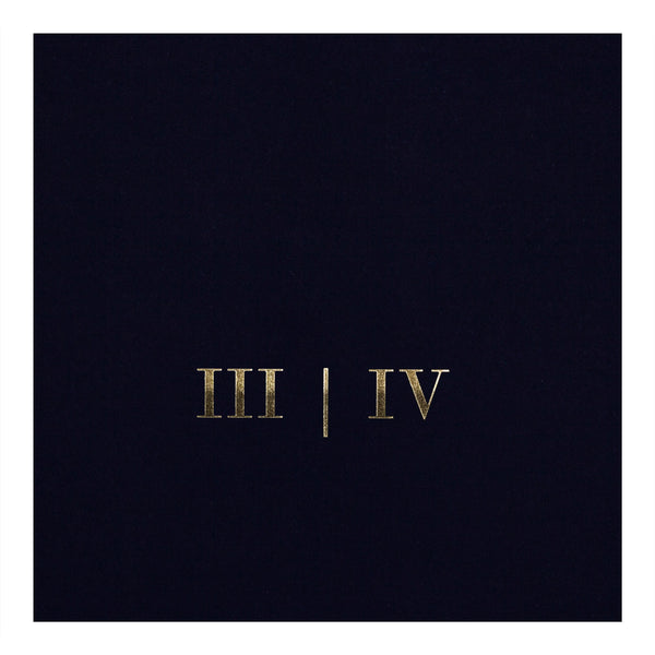 The Final Frontier - III|IV Golden Roman Numerals