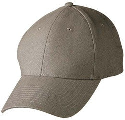 Cotton Twill Cap with plain peak