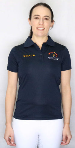 EA Coach Bamboo Short Sleeve Polo Shirt