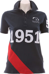 EA Navy Red Polo - Womens