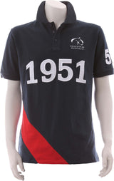 EA Navy Red Polo - Kids