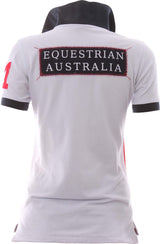 EA White Red Polo - Womens