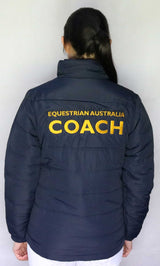 EA Coach Padded Jacket - Wide Quilting