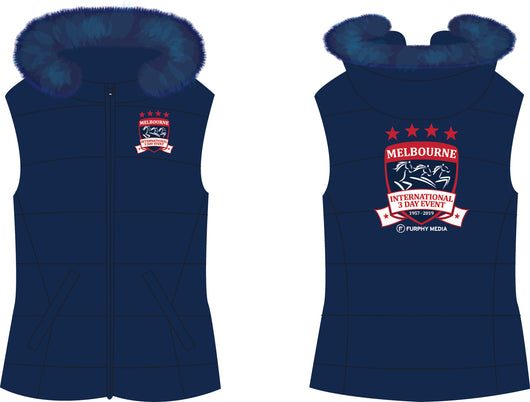 2019 MI3DE Navy Red Padded Vest