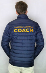 EA Coach Padded Jacket - Narrow Quilting