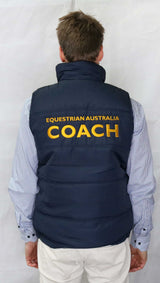 EA Coach Padded Vest - Wide Quilting