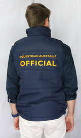 EA Official Padded Vest - Wide Quilting