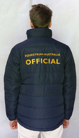 EA Official Padded Jacket - Wide Quilting