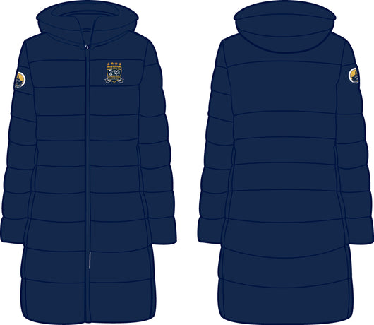 2019 MI3DE Navy Gold Padded Long Jacket