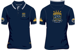 2019 MI3DE  Navy Gold Polo Shirt