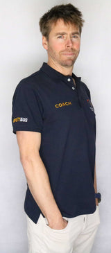 EA Coach Cotton/Lycra Pique Short Sleeve Polo Shirt