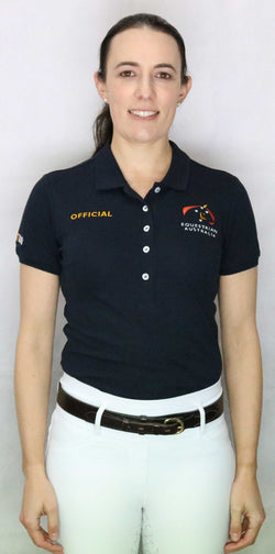 EA Official Cotton/Lycra Pique Short Sleeve Polo Shirt