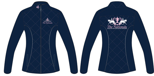 2019 Show Horse Nationals Navy Pink Jacket