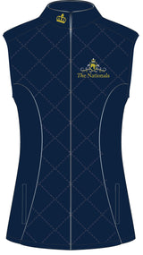 2019 Show Horse Nationals Navy Gold Vest