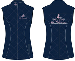 2019 Show Horse Nationals Navy Pink Vest