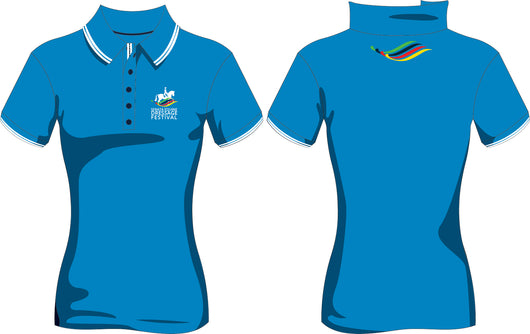 Serata Equine Dressage Festival Royal Polo Shirt
