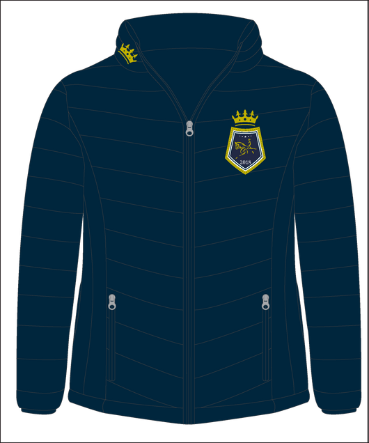 Show Horse Nationals Navy Gold Padded Jacket