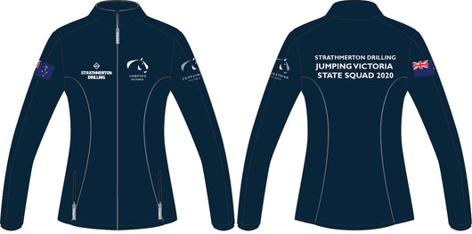 Jumping Victoria State Squad Softshell Jacket (STATE SQUAD RIDERS ONLY)