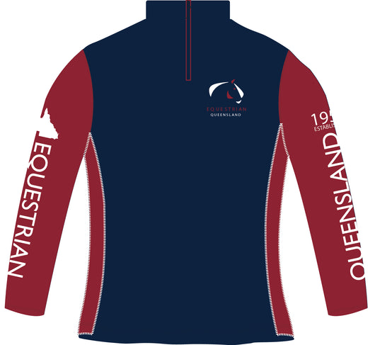 Equestrian Queensland Long Sleeve Training Top