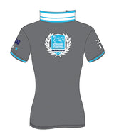 MI3DE Grey Aqua Sash Polo Shirt