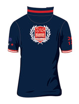 The Nationals Red Navy Polo