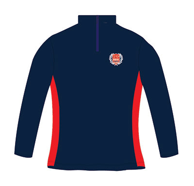 MI3DE Training Top Navy Red