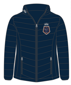Show Horse Nationals Navy Orange Padded Jacket