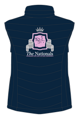 Show Horse Nationals Navy Pink Padded Vest