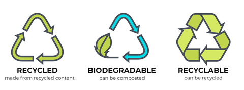 Valerie Dumaine Recycled / Compostable / Recyclable Icons
