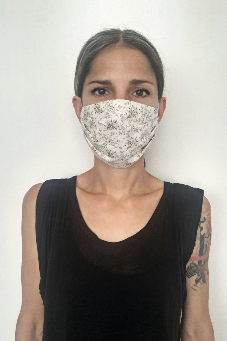 Mask - Small - Floral Print