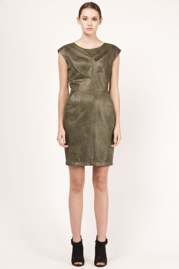 Ryo 'Hunter Suede' Dress