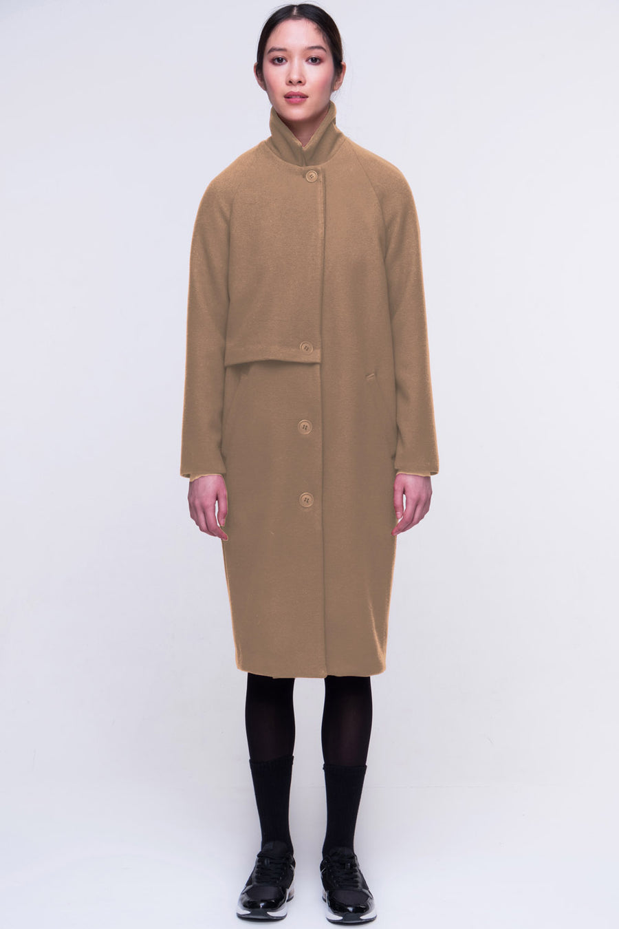 Kenneth Coat Vegan Wool