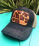 Leopard Patch Cap