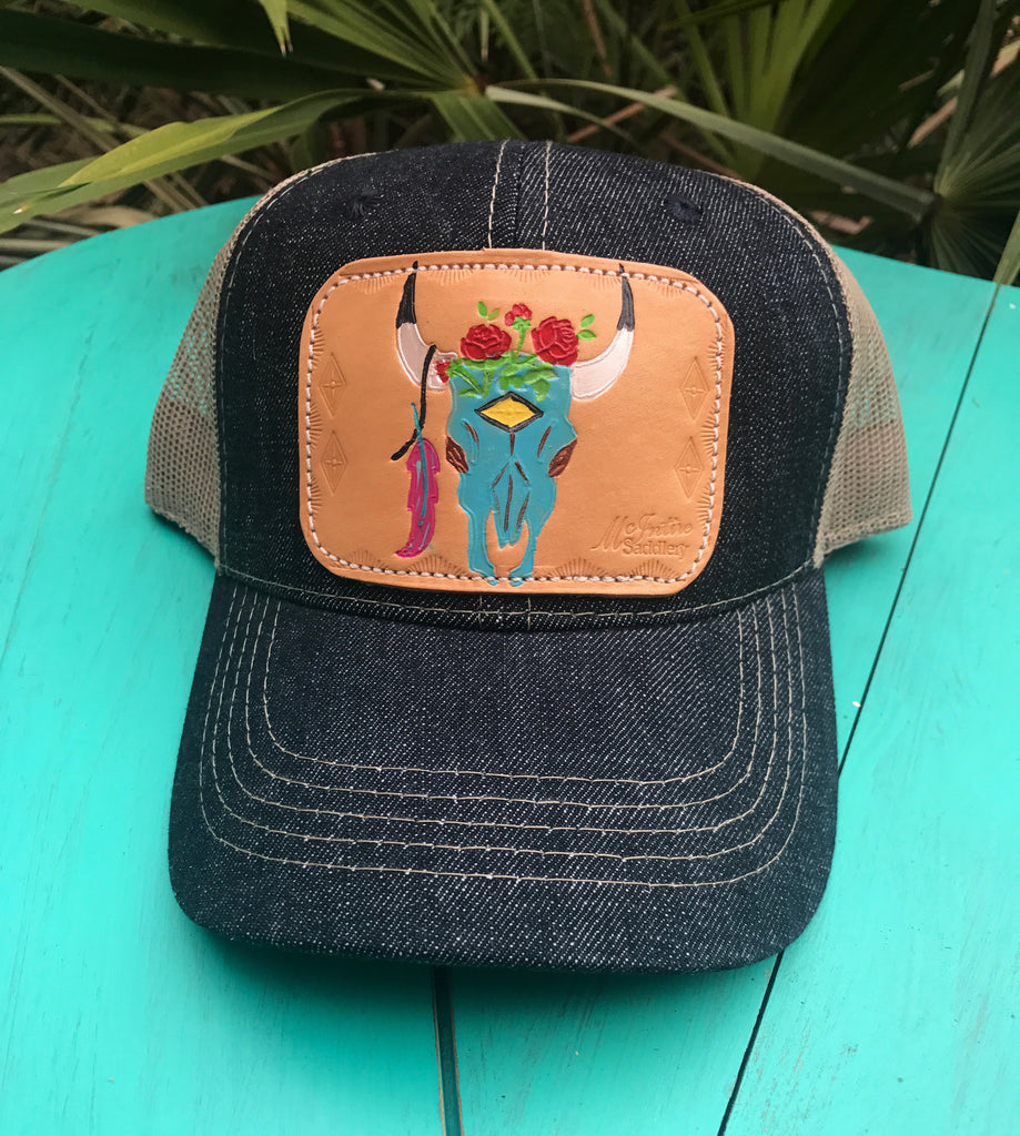 Skull Patch Cap
