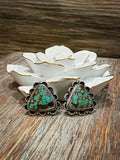 Royston Turquoise Post Earrings