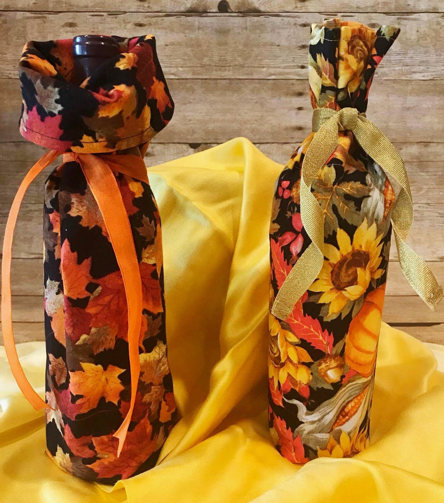 Fall Wine Bag