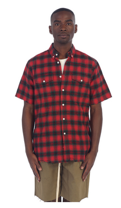 EPTM: S/S SIDE ZIP FLANNEL