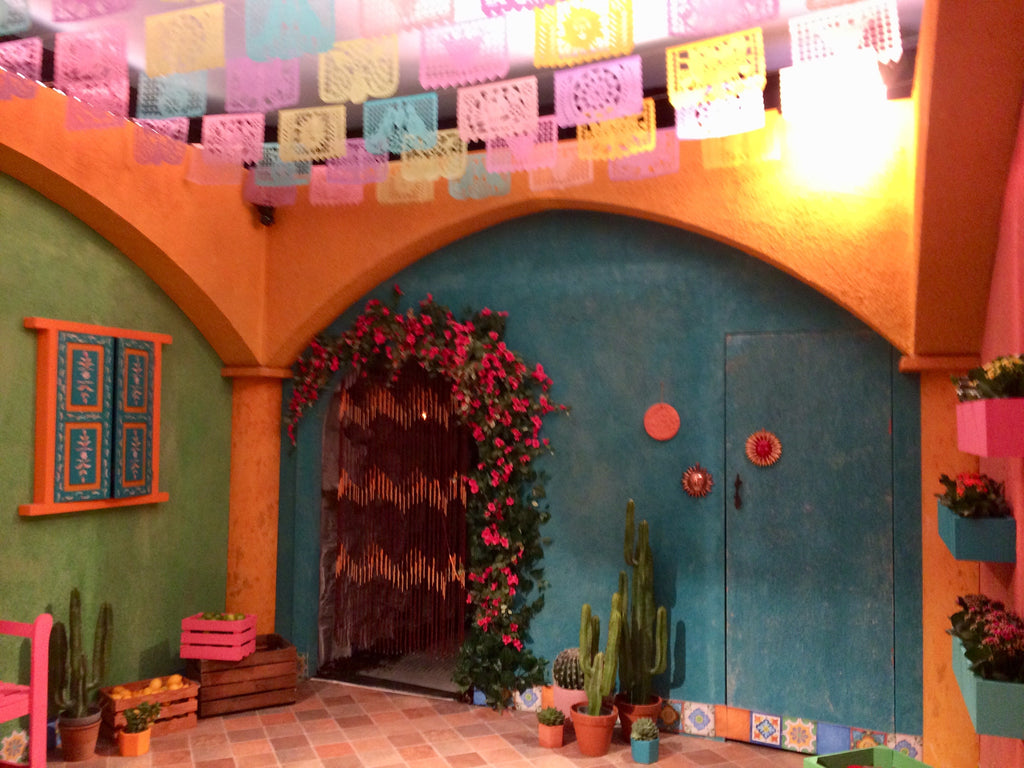 papel picado event decor