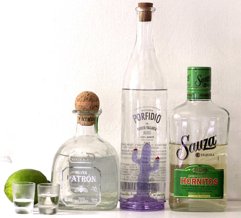 Tequila bottles, Cinco de Mayo Party Ideas for your Cinco de Mayo Theme Party by ARTMEXICO