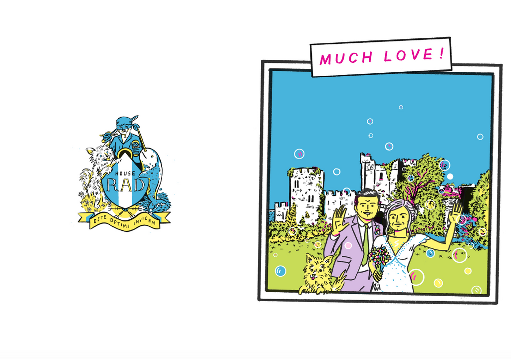 wedding illustrations by James Nash