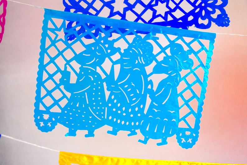 christmas papel picado
